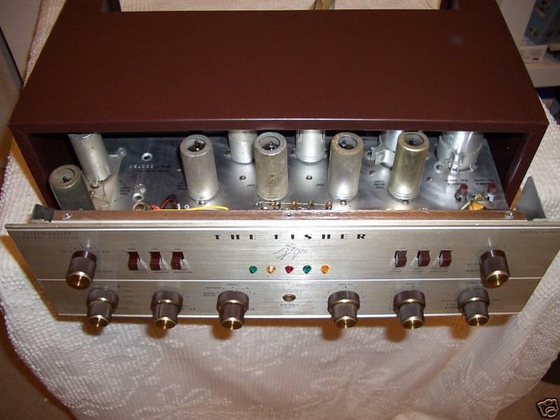 USA. VINTAGE (50,s-80,s) - Página 2 Fisher-x-202-b-tube-amplifier-4