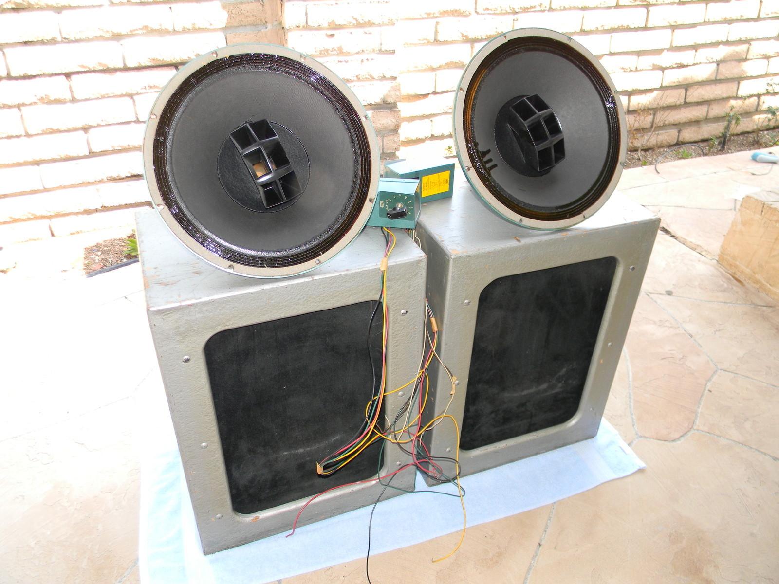 vintage altec speakers. altec lansing 605 15\ vintage altec speakers l